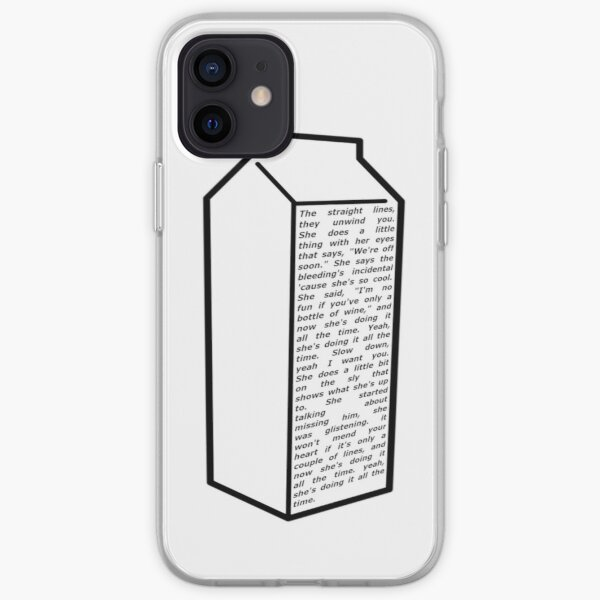 milk iPhone Soft Case