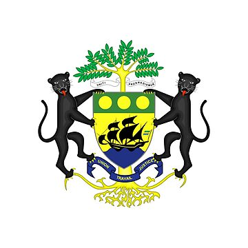Coat of arms of Gabon by fourretout