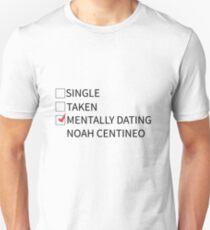 mentally dating noah centineo Unisex T-Shirt