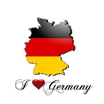 I love Germany by CarolineArts