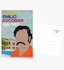 Pablo Escobar  Postcards