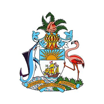 Coat of arms of the Bahamas by fourretout