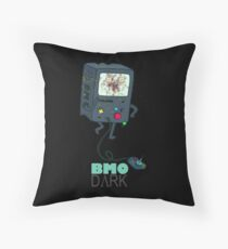 BMO DΛRK Throw Pillow