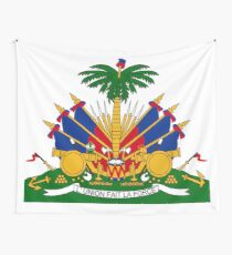 Coat of arms of Haiti Wall Tapestry