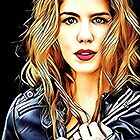 Emily Bett Rickards  by TizianaDF
