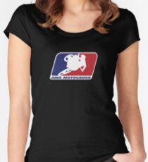 Ama Motocross Merchandise Women's Fitted Scoop T-Shirt