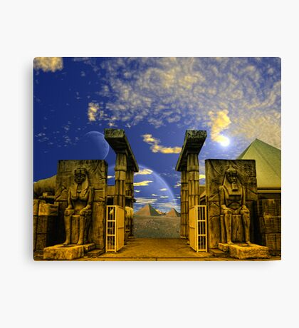 The Pharaoh's Portal Canvas Print