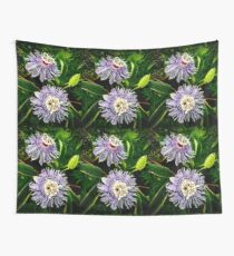 Passion Flowers Wall Tapestry