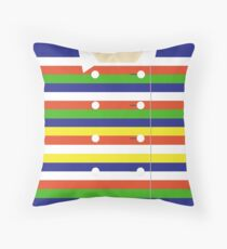 Rachel Berry New York Coat Throw Pillow