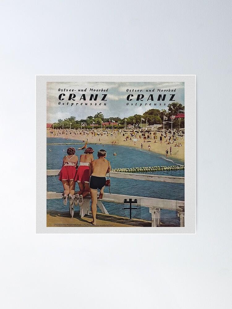 Alternate view of Ostsee und Moorbad Cranz, Ostpreussen Poster