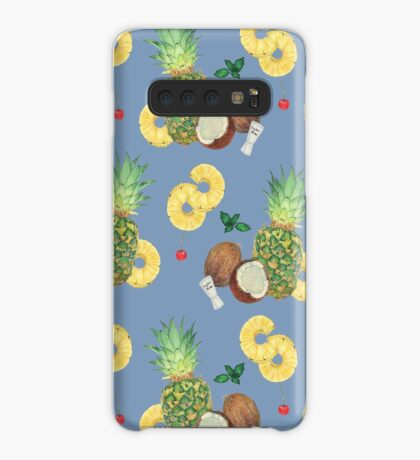 pina colada _ blue Case/Skin for Samsung Galaxy