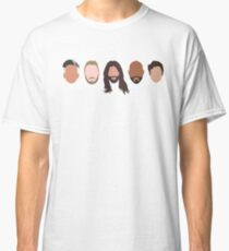 Queer Eye fab 5 Classic T-Shirt