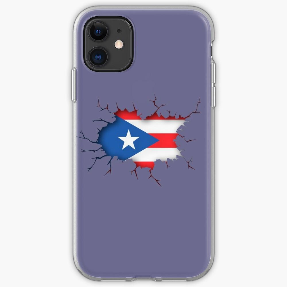 Puerto Rico Flag Boricua iphone case