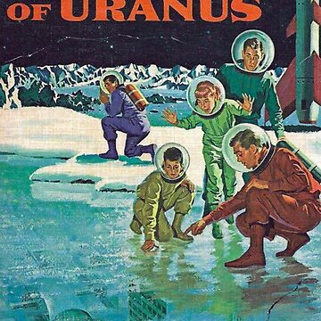 Lost City of Uranus  pulp sci fi paperback by WigOutlet