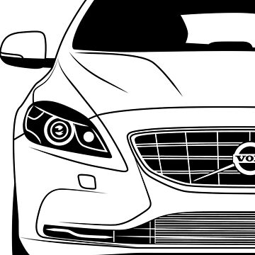 Volvo V40 2013 Best Shirt Design by CarWorld