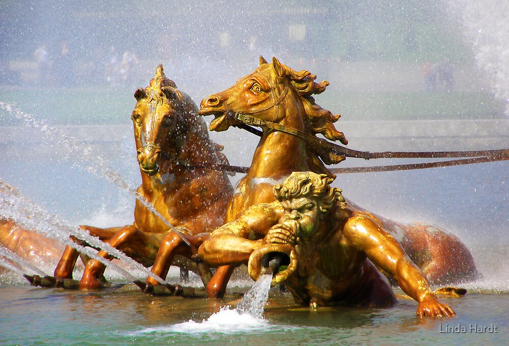 Apollo Fountain, Versailles by Linda Hardt