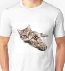 tabby cat with big paws Unisex T-Shirt