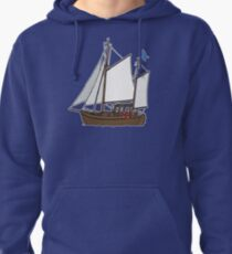 Sailing boat Pullover Hoodie
