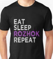 Eat Sleep Rozhok Repeat Unisex T-Shirt