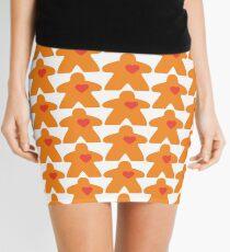 Meeple Love - orange Mini Skirt