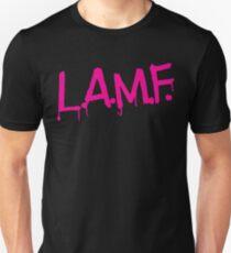 L.A.M.F. (Like a Motherf#cker) LAMF Pink Unisex T-Shirt