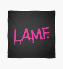 L.A.M.F. (Like a Motherf#cker) LAMF Pink Scarf