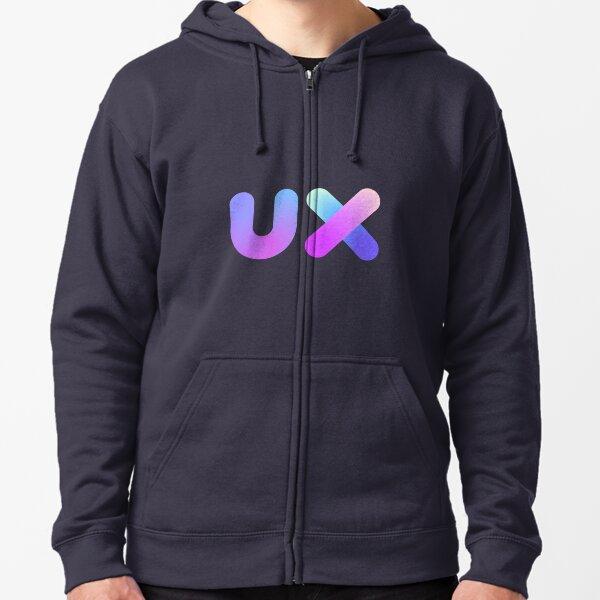 UX Zipped Hoodie