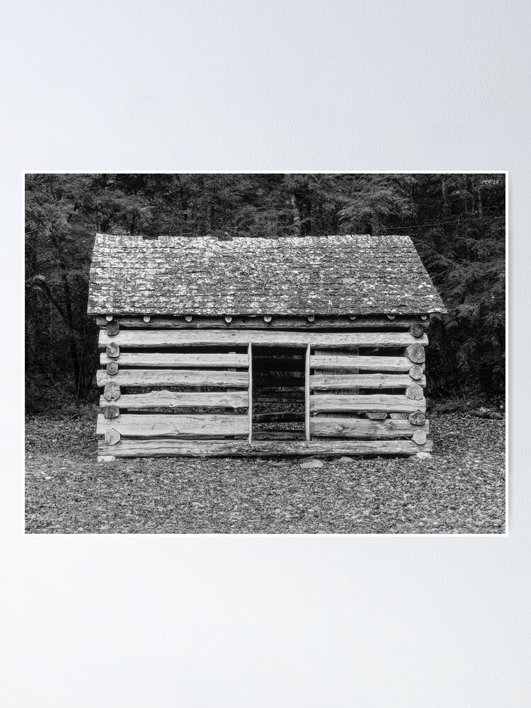 Alternate view of Cades Cove Cabin Poster