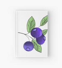 Blueberry Hardcover Journal