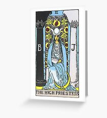 High Priestess Tarot Greeting Card