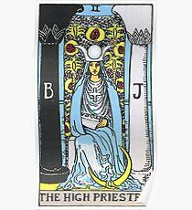 High Priestess Tarot Poster