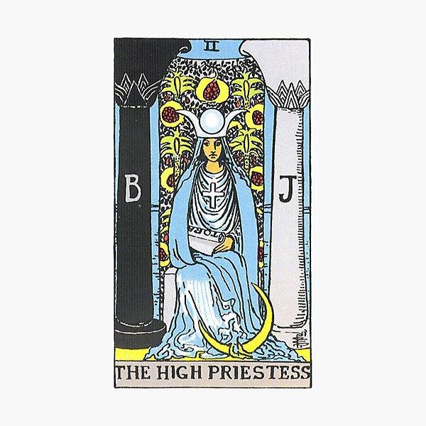 High Priestess Tarot Photographic Print