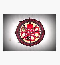 Hail Hydra Logo Photographic Print