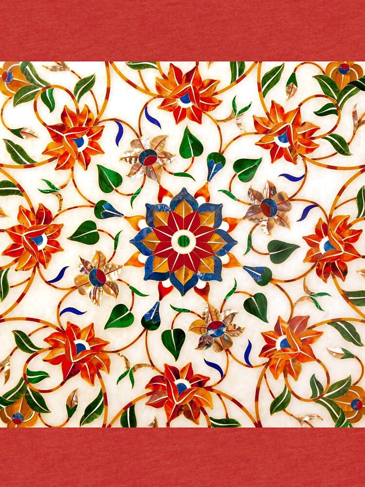 Diseño Floral Taj Mahal de Platslee