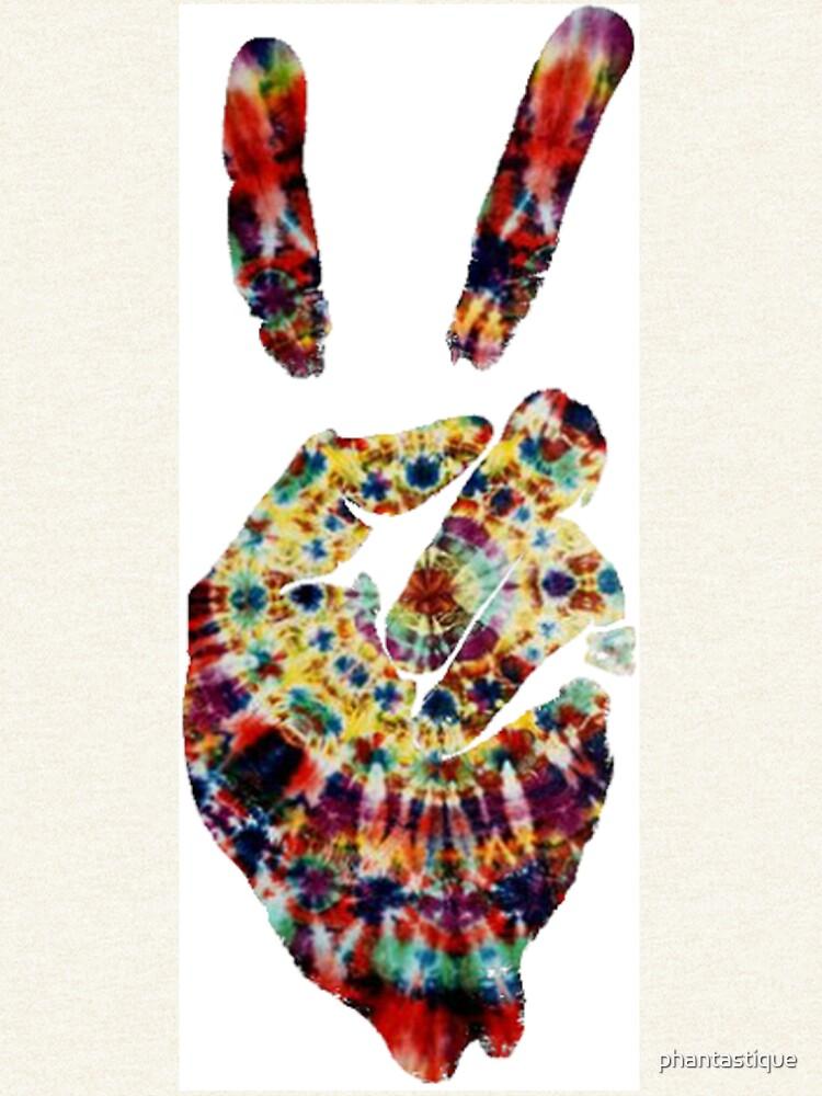 Hippie Friedenszeichen von phantastique