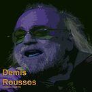 DENNIS ROUSSOS COLLECTION CD  COVER(C2018) by Paul Romanowski