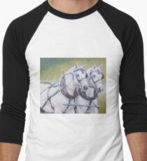 Percheron pair Men's Baseball ¾ T-Shirt