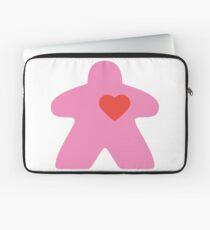 Meeple Love - pink Laptop Sleeve