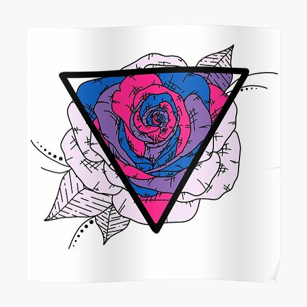 Bisexual Rose Poster
