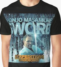 Honjo Masamune Sword Expedition Unknown Josh Gates Graphic T-Shirt