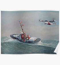 Coast Guard, On The Sea And In The Air Poster