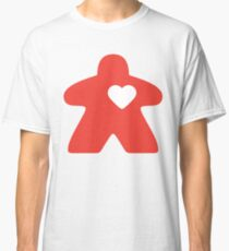 Meeple Love - red Classic T-Shirt
