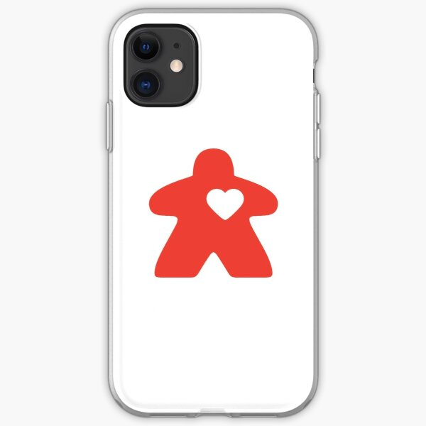 Meeple Love - red iPhone Soft Case