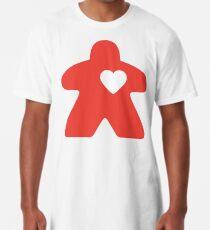 Meeple Love - red Long T-Shirt