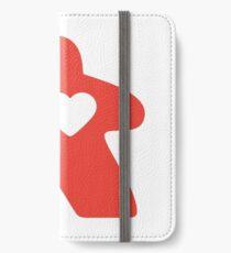 Meeple Love - red iPhone Wallet/Case/Skin