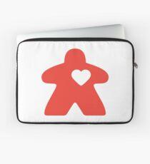 Meeple Love - red Laptop Sleeve