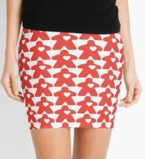 Meeple Love - red Mini Skirt