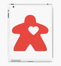 Meeple Love - red iPad Case/Skin