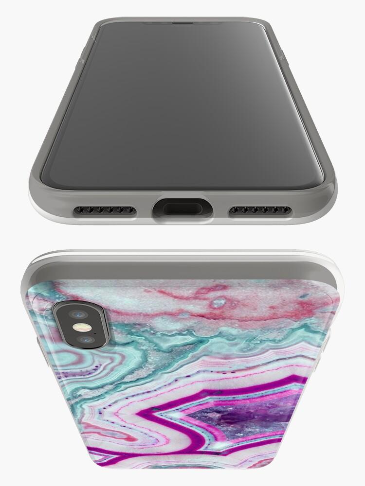 Alternative Ansicht von Amethyst Geode iPhone-Hüllen & Cover