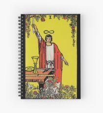 The Magician Tarot Spiral Notebook
